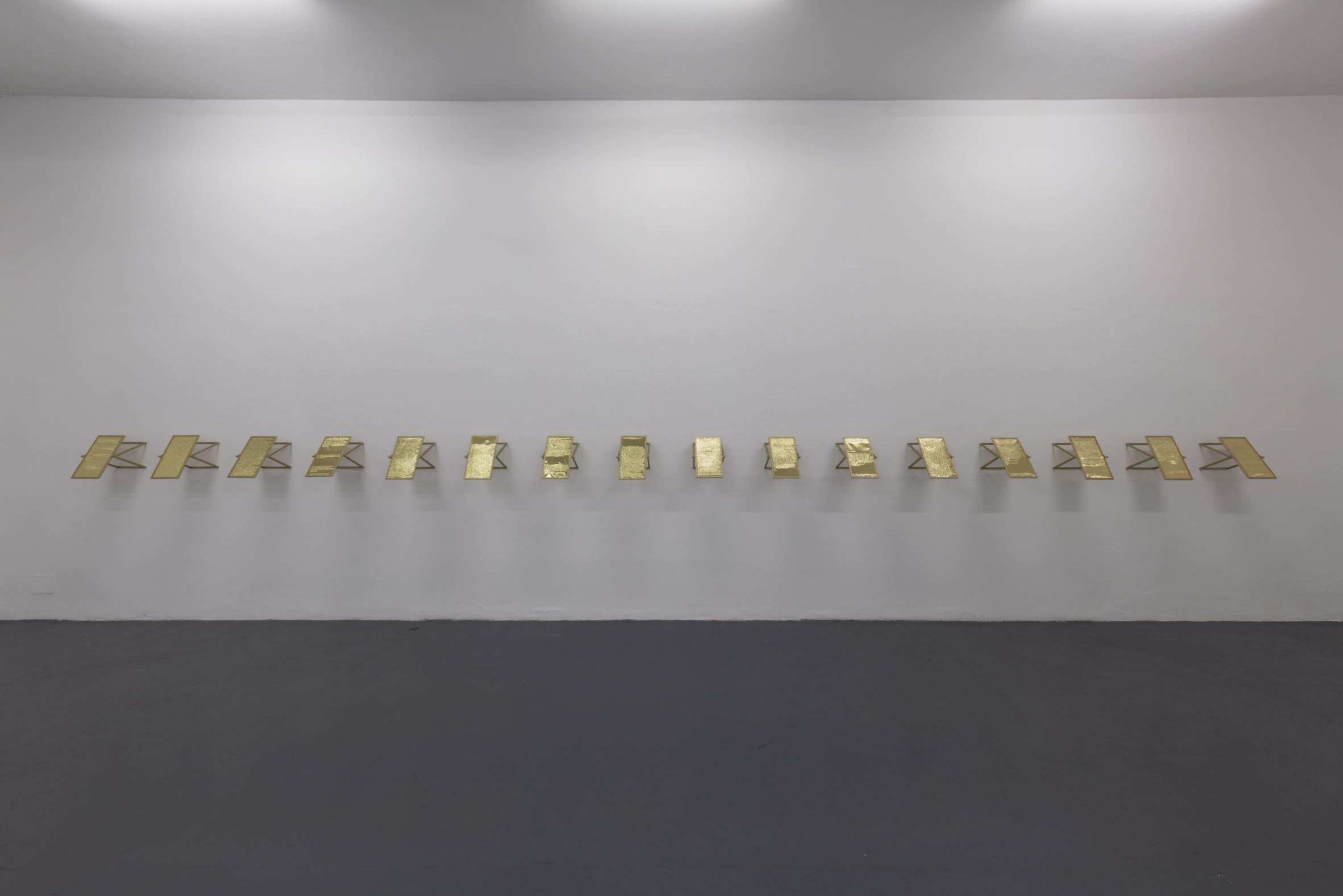 Words with r: reinterpretation. Poesia e Rivoluzione alla Galleria Abbondio