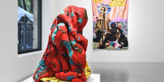 Basil Kincaid, The Rolling Fields To My House, 2021. Installation view at Galleria Poggiali, Milano. Foto Michele Alberto Sereni. Courtesy Galleria Poggiali