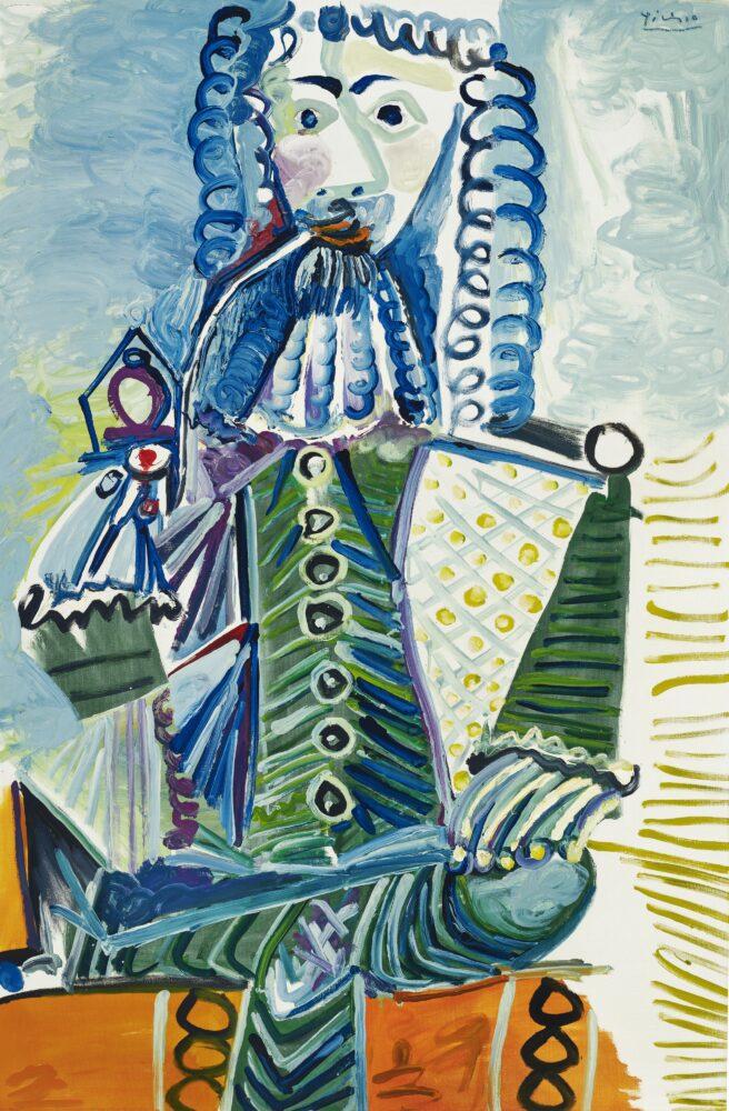 Pablo Picasso, Mousquetaire à la pipe
