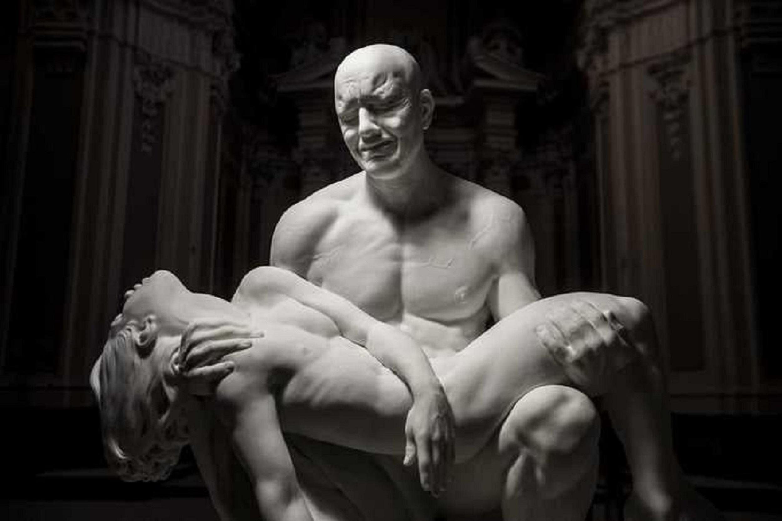 Jago come Michelangelo? Ecco la nuova Pietà che incanta Roma