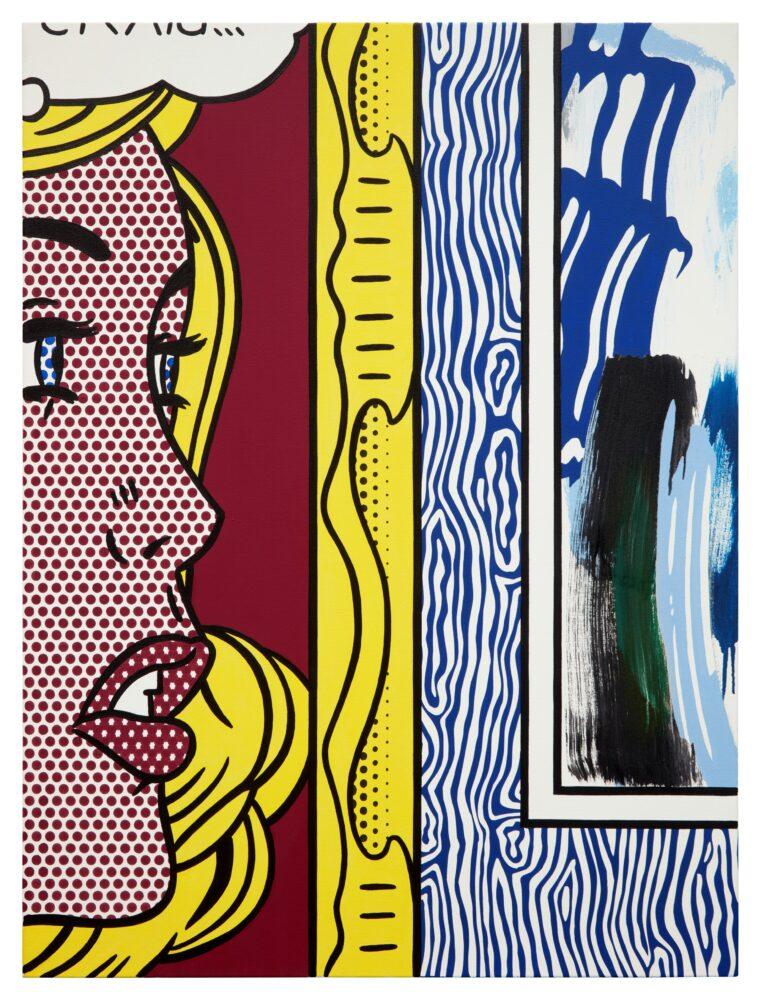 Roy Lichtenstein, Two Paintings Craig..., 1983