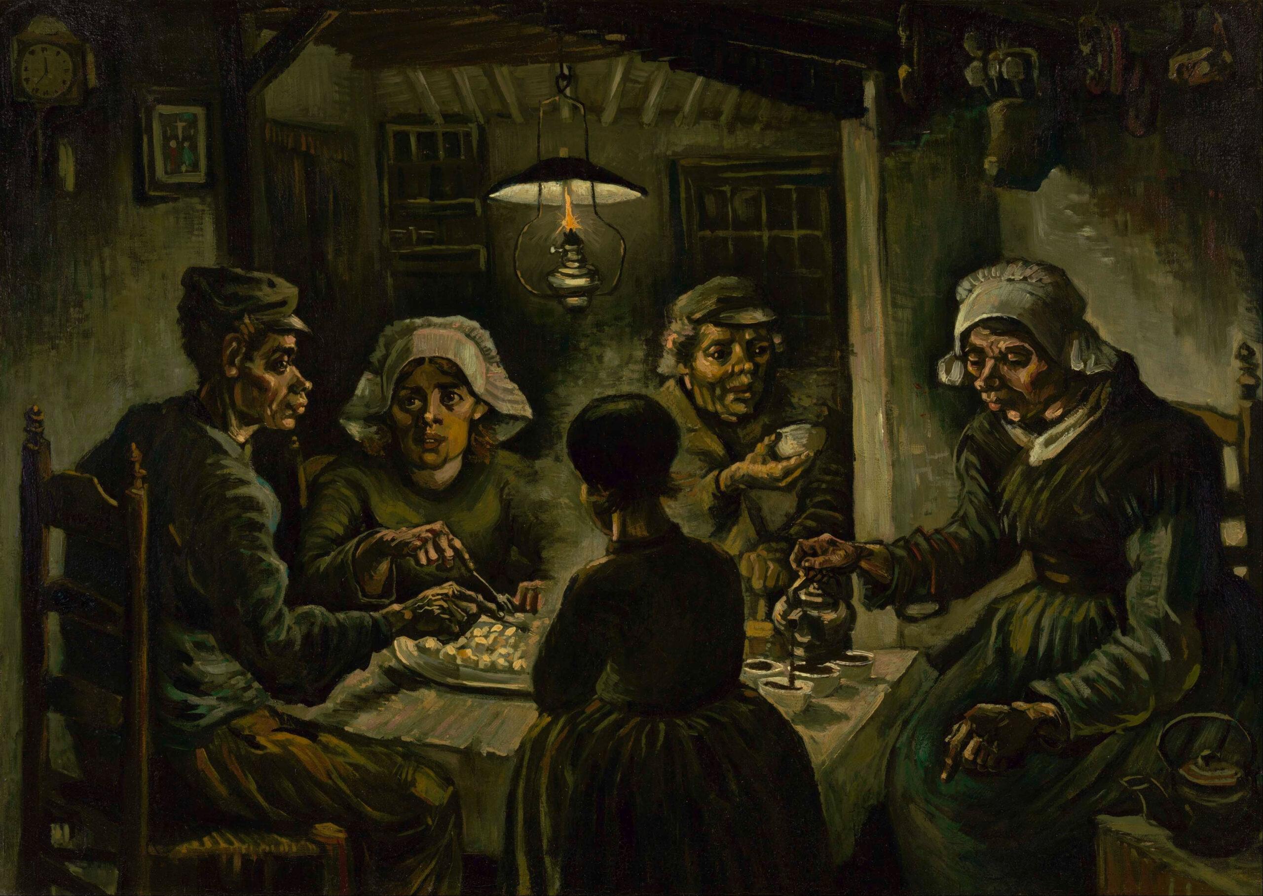 Errore o capolavoro? Al Van Gogh Museum una mostra su I mangiatori di patate