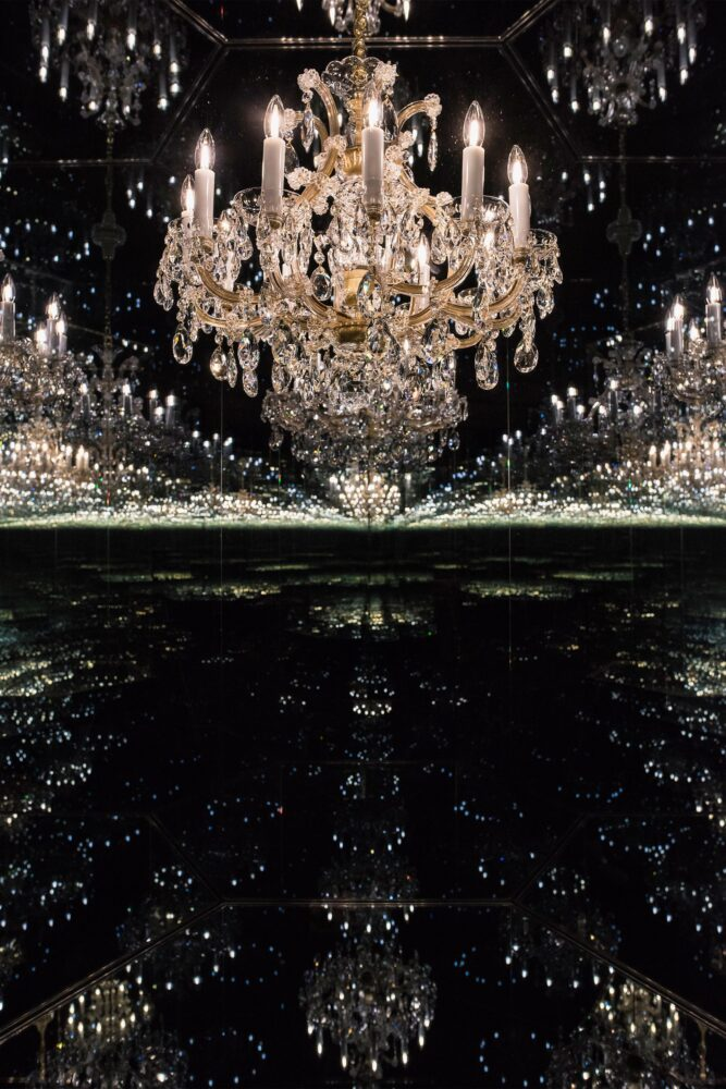 Yayoi Kusama Chandelier of Grief 2016/2018 Tate Presented by a private collector, New York 2019 © YAYOI KUSAMA Courtesy Ota Fine Arts and Victoria Miro