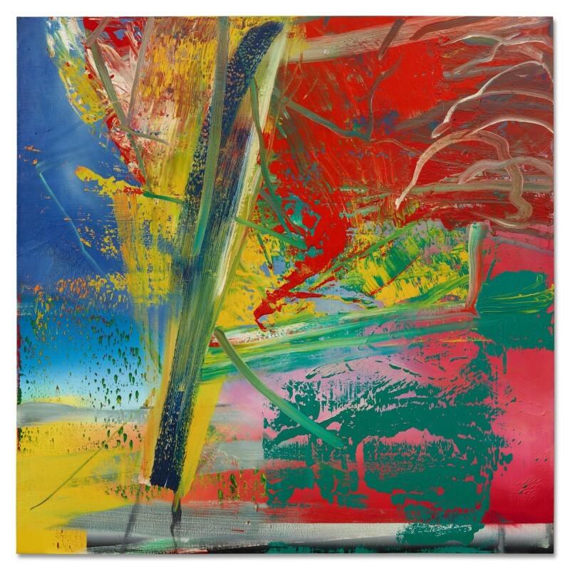 Sotheby's, parola all'esperto: così Gerhard Richter realizza i suoi paesaggi astratti