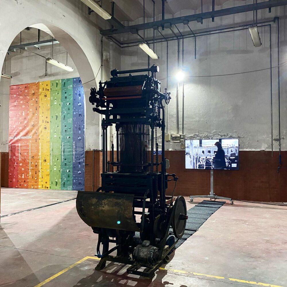 maker art installazione