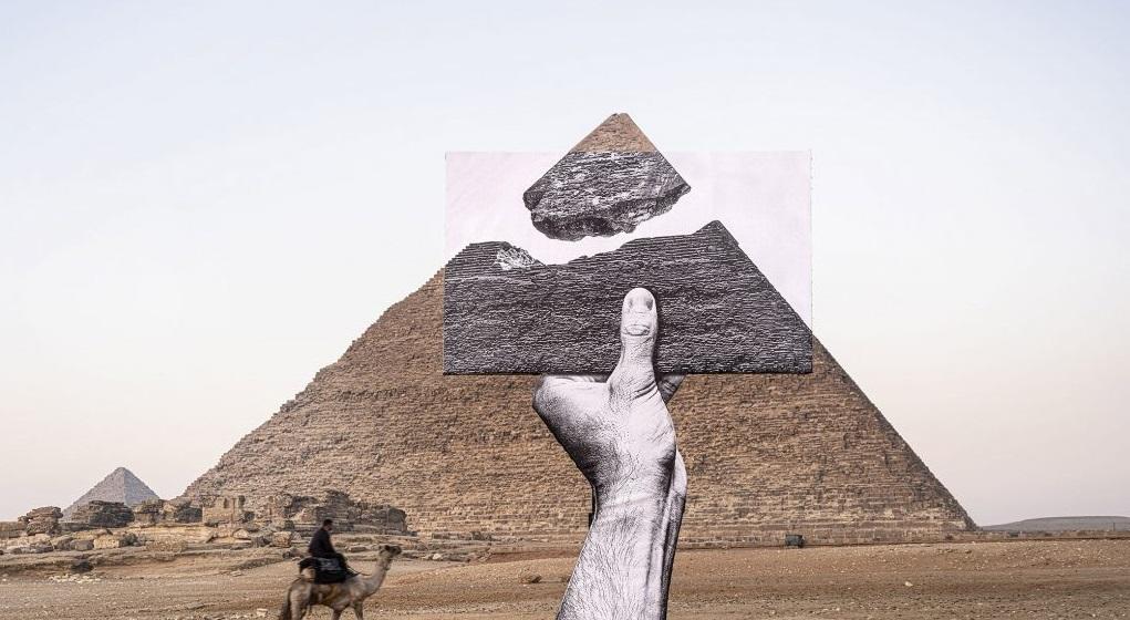Arte contemporanea a Giza. JR firma la prima grande mostra tra le piramidi
