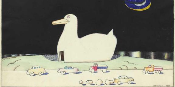 Saul Steinberg. Milano New York alla Triennale di Milano
