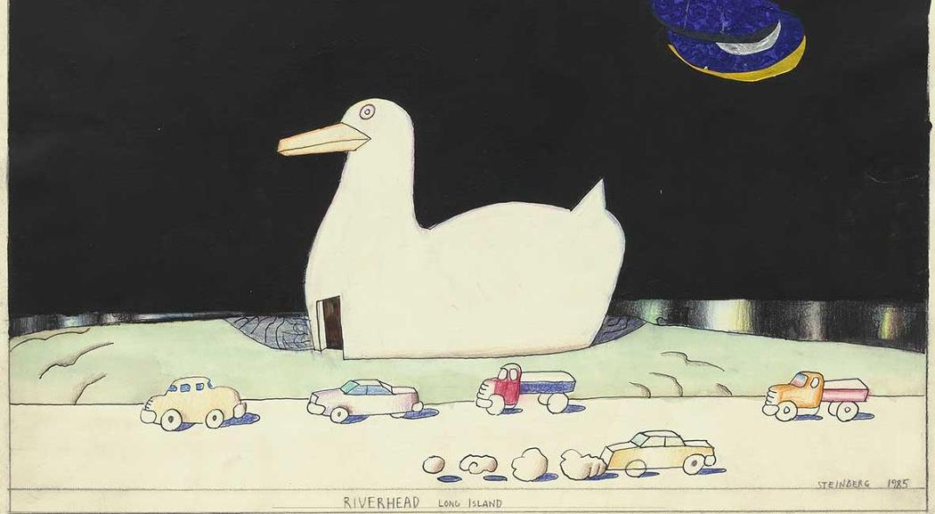 Saul Steinberg torna a casa. Alla Triennale la sua mostra Milano New York